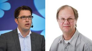 Jimmie Åkesson (Sd) och Lars Ströman.