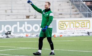 Alexander Lundin vaktade Falkenbergs mål i 13 matcher i allsvenskan i fjol.