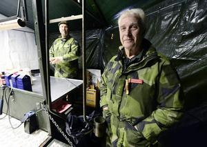 Kursledare är kapten Sven-Olof Olofsson och bakgrunden syns Richard Berglund.