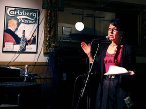 Initiativtagare. Lena Eriksson höll i trådarna på stödgalan för folket i Gaza.