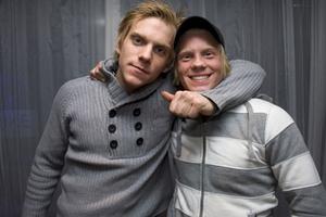 Strike Martin och Daniel.