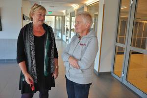 Fler speciallärare och undervisning på nyanlända elevers modersmål, det skulle Birgitta Skärberg och Annika Ahlenbring vid Rotskärsskolan vilja ha.