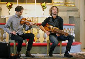 Oktober Mjelva och Rydvall gjorde fin konsert i Gamla kyrkan