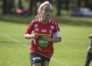 Mohedskaptenen Malin Sjöberg tyckte att hennes lag gott kunde ha fått en poäng med sig från matchen mot Djursholm.
