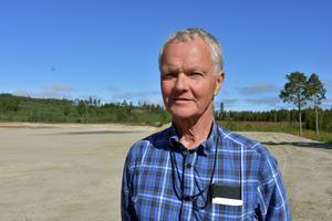 Mats Norberg hoppas ha sitt flygfält i Åviken klart 2018.