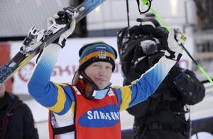 Lördagens segrare i herrklassen, Victor Öhling Norberg. Svensken var suverän från kval till final och gjorde kanske sitt livs bästa VC-tävling.