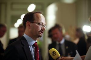 Regeringen förlorade. Tomas Eneroth (S) var med och vann över regeringen om sjukförsäkringen i socialförsäkringsutskottet.foto: scanpix