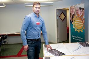 Fredrik Venngren, projektledare för ombyggnaden av riksvägen, berättar att kommunen ska stå för 20 procent av kostnaderna för delprojektet Valhallavägen.