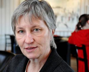 """""""För att skapa tillväxt måste det finnas arbetstillfällen för både män och kvinnor"""", säger Susanne Hjortzberg, som har föreläst om jämställdhet för Strömsunds kommuns politiker, chefer och tjänstemän.  Foto: Catarina Montell"""