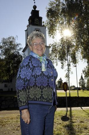 Kristina Karlsdotter-Olsson är ny diakon i Idre-Särna församling. Foto:NisseSchmidt