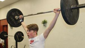 15-årige Liam Magnusson tog guld i Landskrona.
