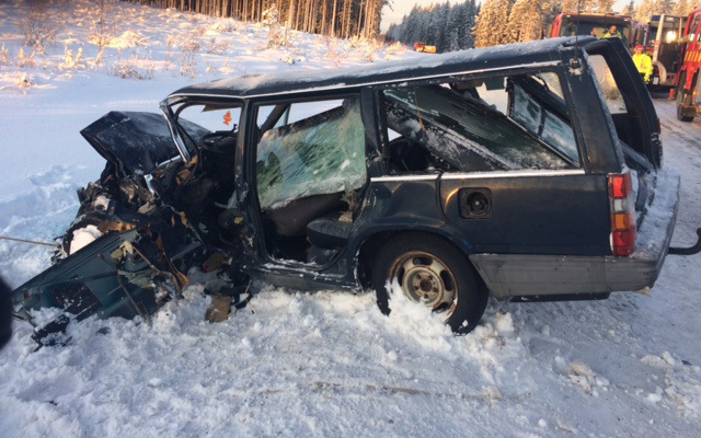 Krockade i 80 km h overlevde olyckan