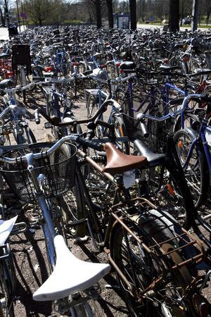 Fler cykelparkeringar planeras vid nya stationsområdet.