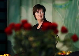 Krismedveten. Mona Sahlin (S) har svårt att hantera osäkerheten i ekonomin.