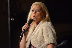 Att få sjunga i Stora Skedvi kyrka var speciellt för Sofia Källgren eftersom hennes farmor växte upp i trakten.