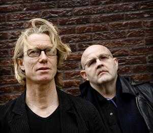 Anders Roslund och Börge Hellström.Foto: Mona-Lisa Djerf/SvD/Scanpix