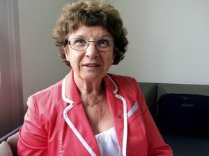 Mona Hammarstedt, gruppledare för Kristdemokraterna i landstinget.