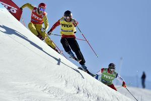 Världscupen Skicross, en utmaning för de tuffaste.