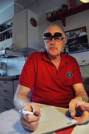 Bengt-Göran Norlin tycker att Naturskyddsföreningen är utsatt för en hetskampanj.