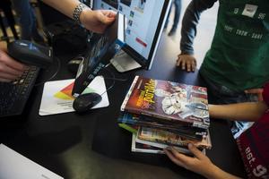 Var femte bibliotekarie har blivit hotad på jobbet, enligt Dik:s nya rapport. ARKIVBILD.