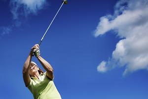 En dag där alla är välkomna att prov golf.
