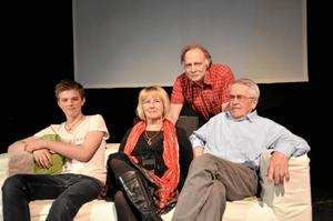 Oscar Hagsten, Gunilla Pihlblad, Dag Stranneby och Lennart Jinnestrand.