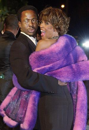 Äktenskapet mellan Whitney Houston och Bobby Brown var stormigt.