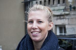 Ebba Larsson, Trafikverket:–Jag jobbar med cykelfrågor och vill lära mig mer. Programpunkten om vem som har väghållaransvar för cykelbanor är intressant.