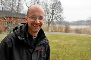 Benjamin Lundqvist, kyrkoherde i Viby och ordförande i föreningen Vibybygden.Arkivfoto: Eleonore Eriksson