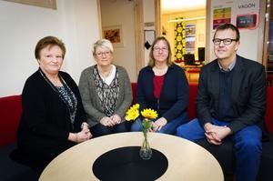 Astrid Täfvander, Lena Gidlund, Eva Rundkvist och Anders Fager.