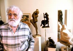 Tosten Fridh hade sin sista utställning i länet för nio år sedan, på Galleri S i Östersund.
