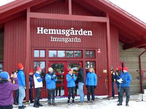 Foto: Johan Trygg.IFK Moras nya föreningshus i Hemus invigdes också under lördagen.