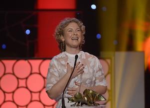 Eva Melander tilldelades priset bästa kvinnliga biroll för rollen som Susanne i