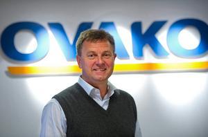 Tom Erixon koncernchef och vd på Ovako.