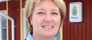 Lena Ronnerstedt-Eriksson, polisområdeschef för Västerdalarna.