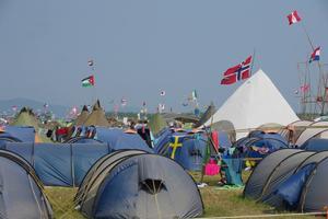Omkring 1 900 svenskar deltog i lägret.
