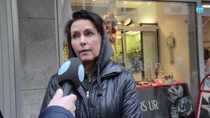 Marie Rickfors, som bor i Falun men jobbar i Borlänge, menar att människorna i Borlänge är snällare än de som bor i Falun.