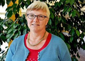 Ewa Back (S), ordförande i Hälso och sjukvårdsnämnden.