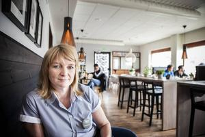 Katarina Magnusson är delägare till Tages Konditori som precis öppnat sin egna Hamburgeria.