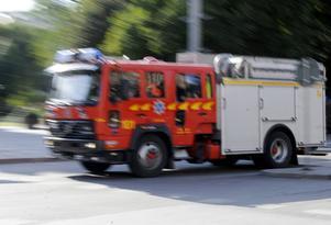 Räddningstjänsten fick under söndagsmorgonen rycka ut på en brand i Lugnvik i Östersund.