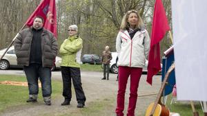 Lena Lovén Rolén, ledamot i kommunfullmäktige i Skinnskatteberg, talade om skillnaden mellan de politiska blocken, som hon menar är större än vad många inser.