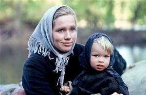 "Liv Ullmann som Kristina i ""Utvandrarna"" efter Vilhelm Mobergs romaner."