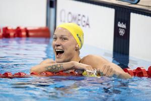 MTG vann budgivningen om rättigheterna för att sända OS. Samhället förlorar inspiration för människor att röra på sig och idrotta och en viktigt gemensam referensram. Här Sarah Sjöström som precis simmat hem ytterligare en OS-medalj.