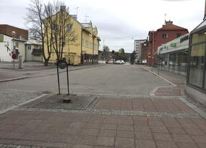 Gågatan på Carlavägen kommer att förlängas ut mot Fredsgatan.