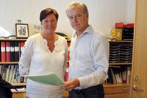 Till en början går Birgitta Dahl Jonsson och Tord Jerfsten parallellt. Men om två veckor blir Birgitta ensam rektor när Tord går i pension.
