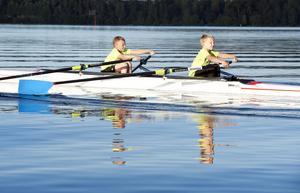 Erik Andersson, Klockar Eskil Nääs visar upp fint samarbete i båten.