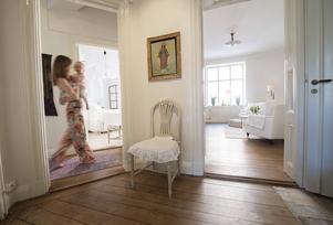 Johanna Wigardt har tagit över sin mormors lägenhet.