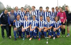 Forsas P18-lag kan titulera sig distriktsmästare efter 2–0-segern mot Strand.