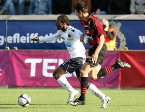 Amadou Jawo har snabbt anpassat sig som forward i allsvenskan och Gefle IF. I kväll är det Halmstad som står för motståndet. Jawo nämn nu som ett hett namn i flera transferrykten.