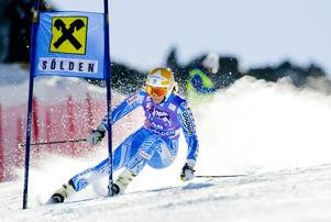 Kajsa Kling, Åre, finns förstås med när världscupssäsongen startar med storslalom i Sölden 25 oktober.